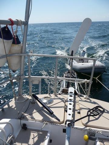 Windvane steering