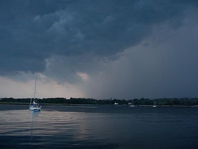 Thunder squall