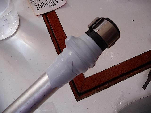 Steering vane rod (jury-rigged)