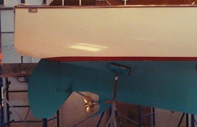 Petrel rudder
