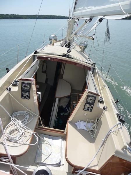 Petrel cockpit