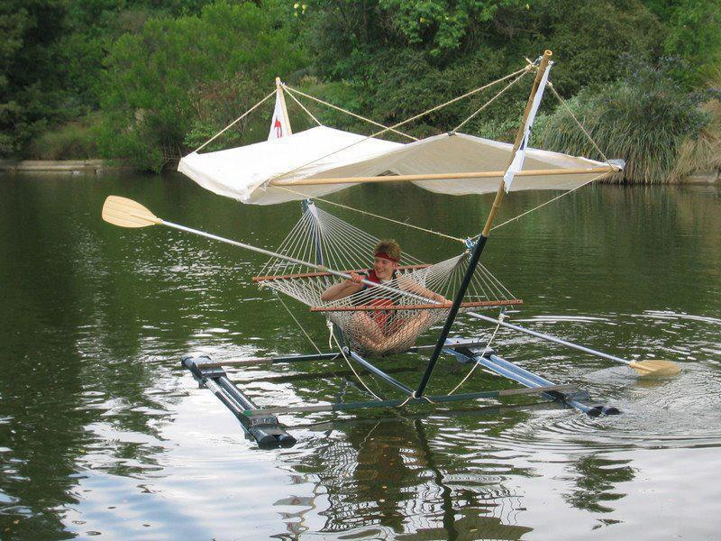 weird paddle boat