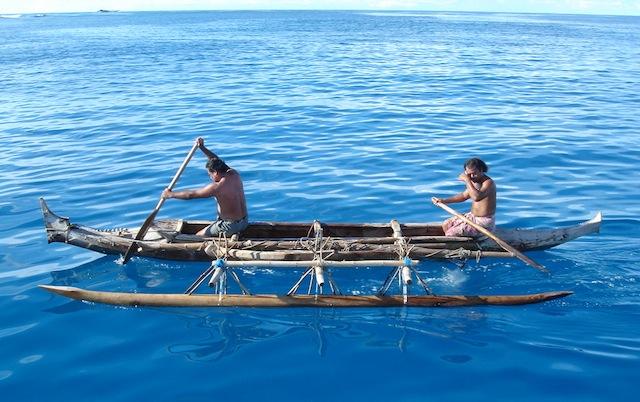Lapita canoe