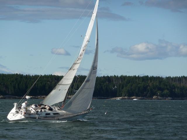 Baltic 35 Alida under sail
