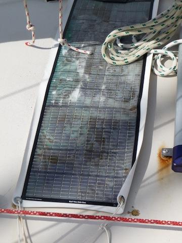 Failed solar panels