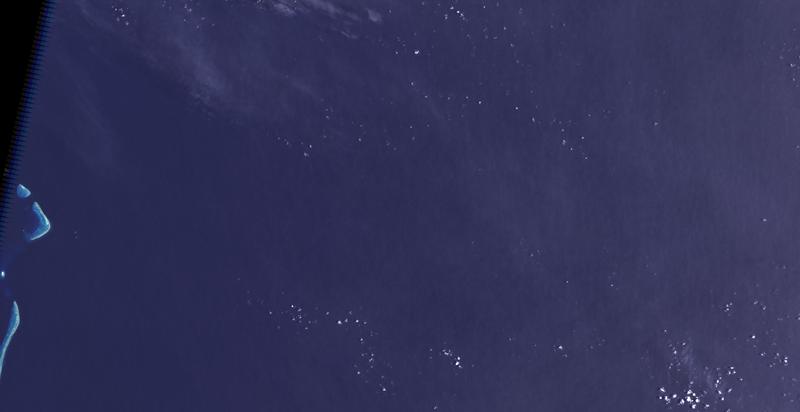 Coral Sea sat photo