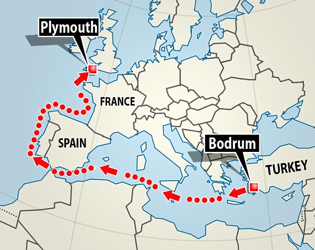 Culum route to UK