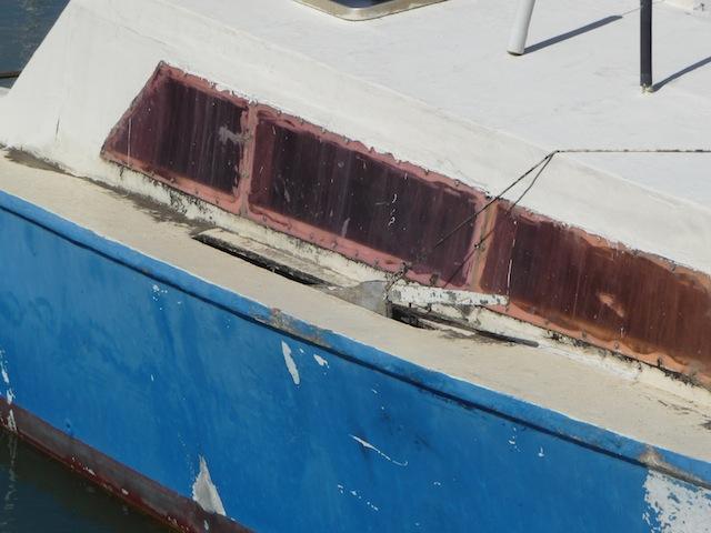 catamaran (detail)