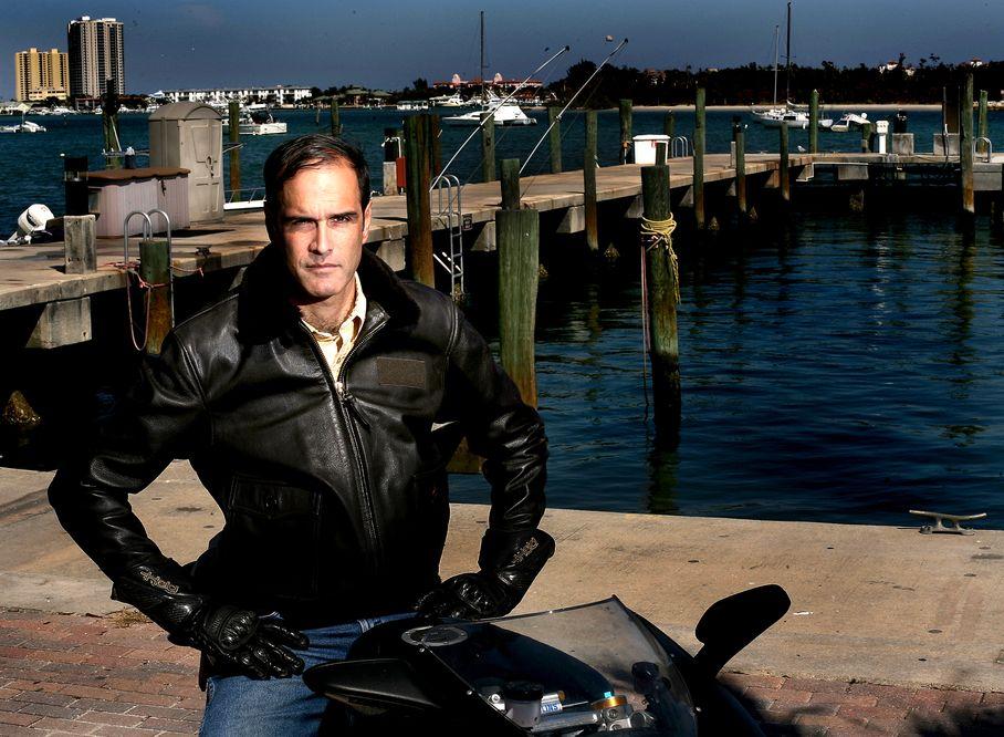 Fane Lozman on motorcycle