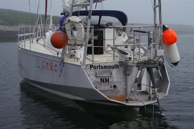 Lunacy at anchor