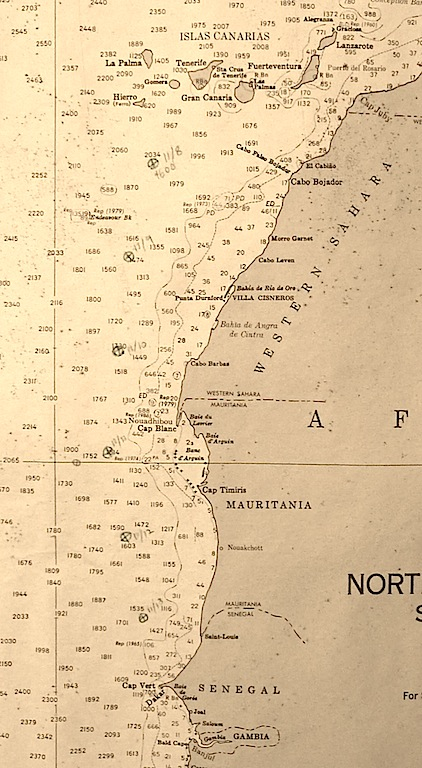 West Africa chart