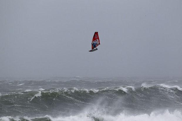 Windsurfer off Ireland