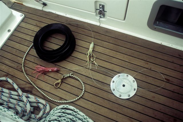 Handline for fishing