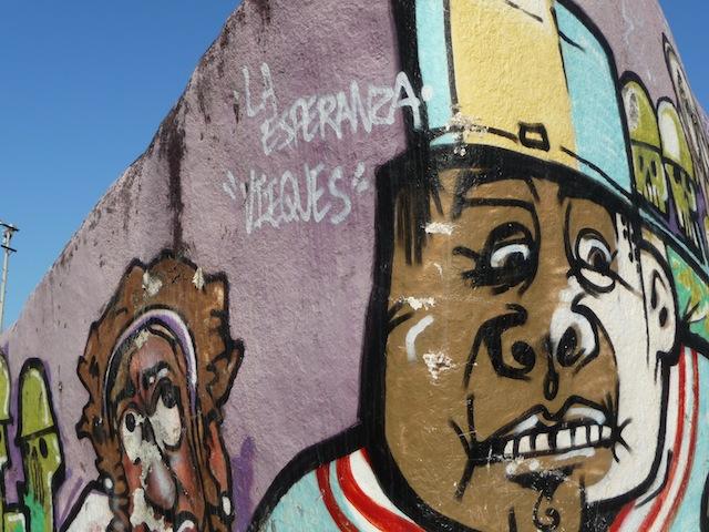 Esperanza graffiti