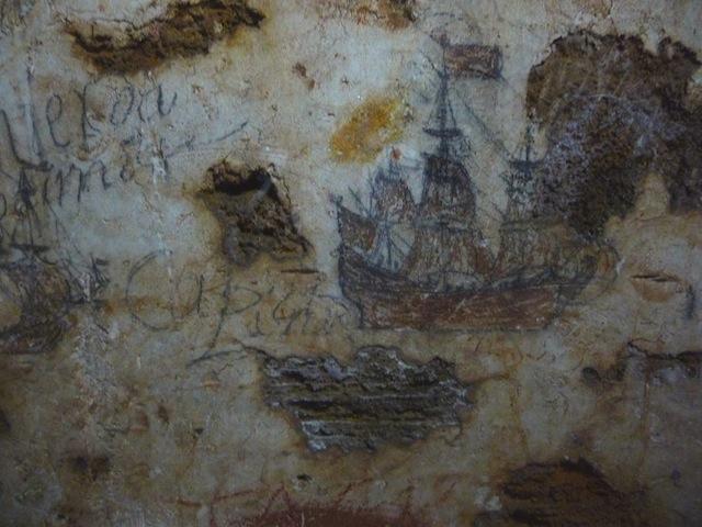 San Cristobal dungeon graffiti