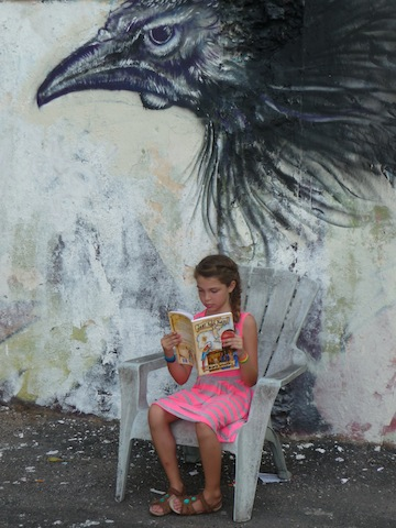 Graffiti rooster