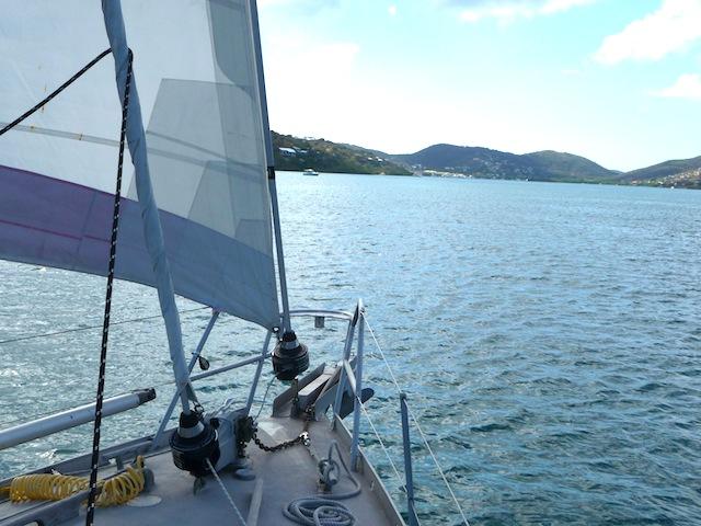 Sailing into Culebra