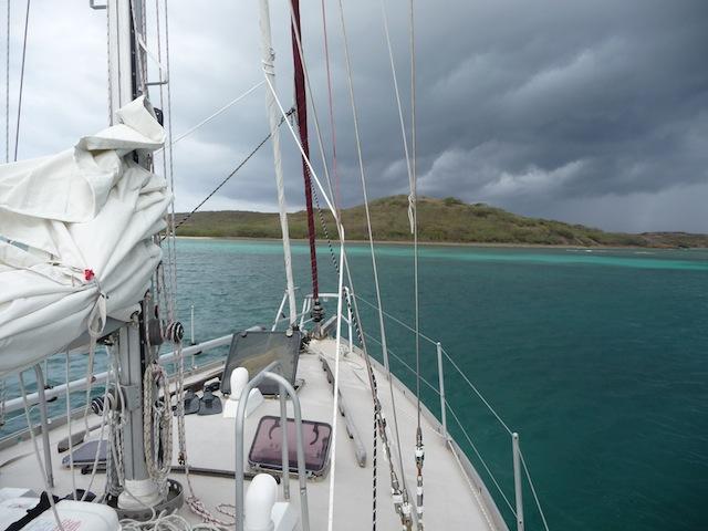 At anchor Vieques