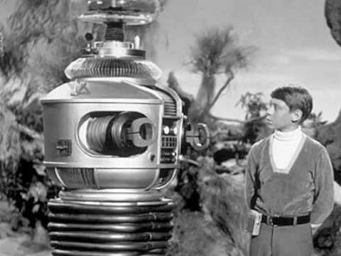 Lost in Space robot and Will