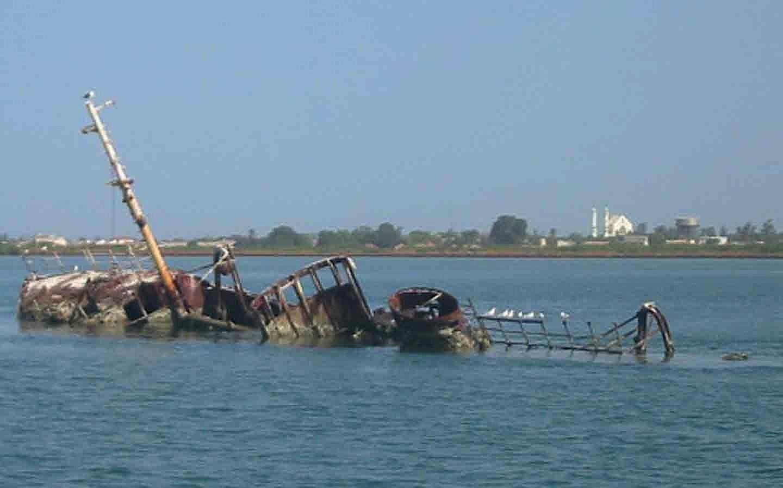 Banjul wreck