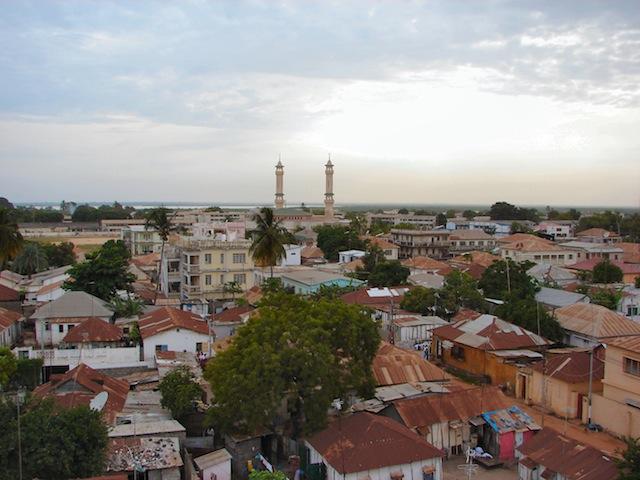 Banjul skyline