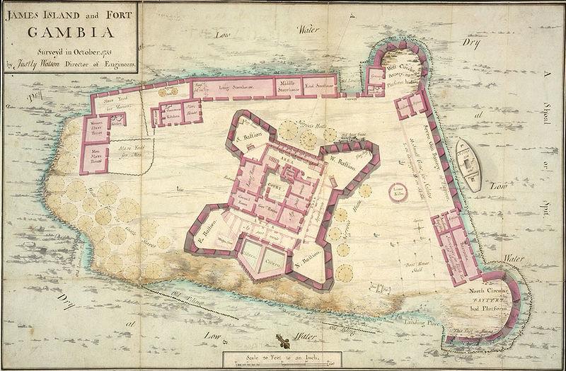 James Island map