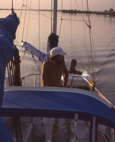 Motoring on the Gambia River