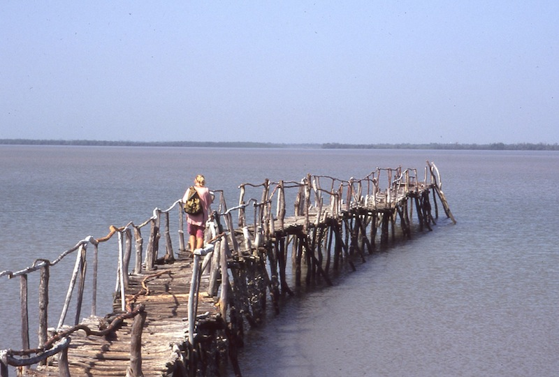 Pier at Tendaba