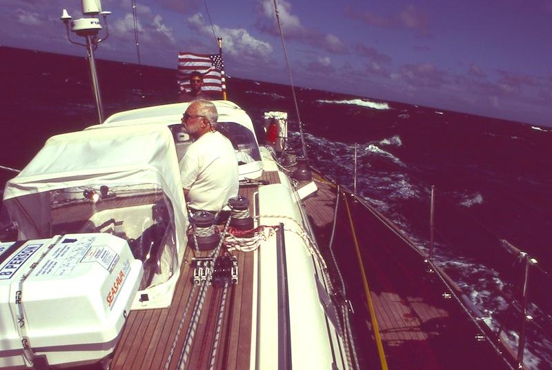 At sea on Avocation