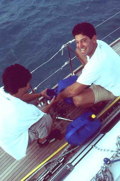 Refueling in Bermuda