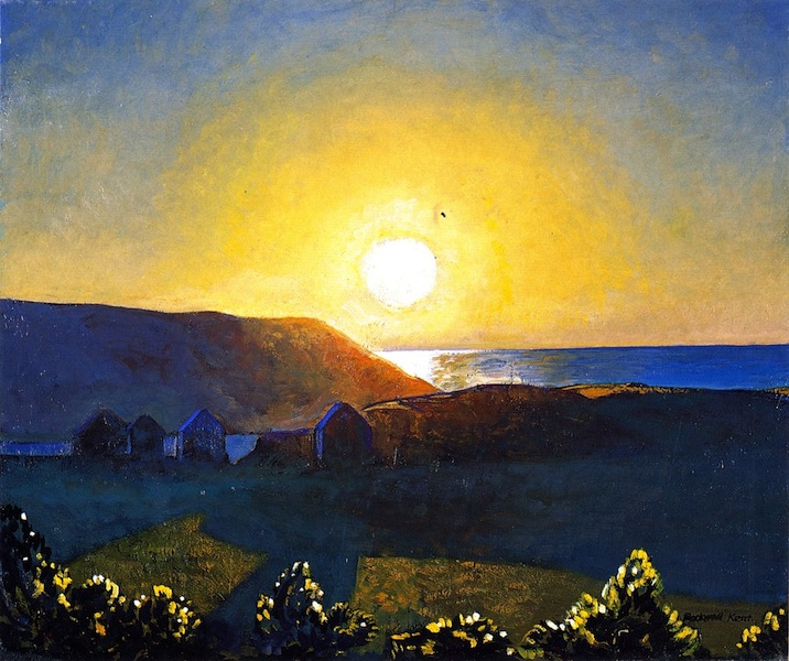 Rockwell Kent painting Monhegan