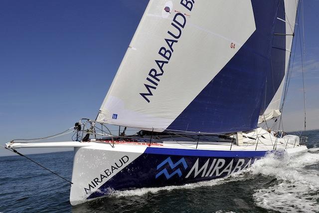 Mirabaud under sail