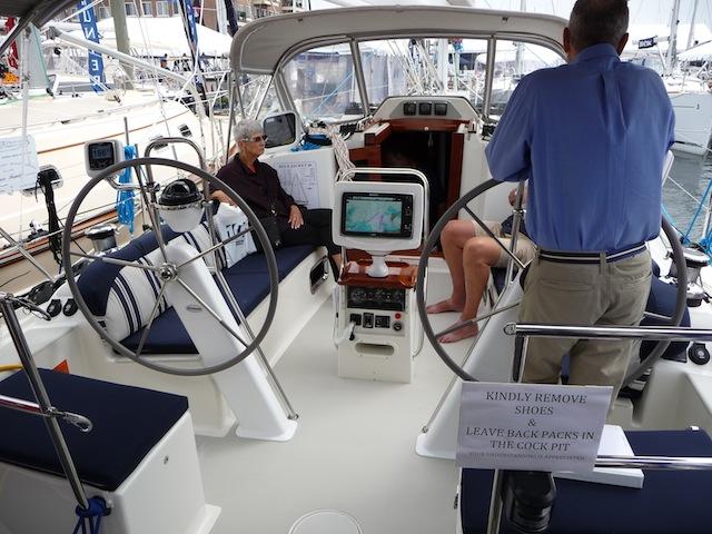 Bluejacket 40 cockpit