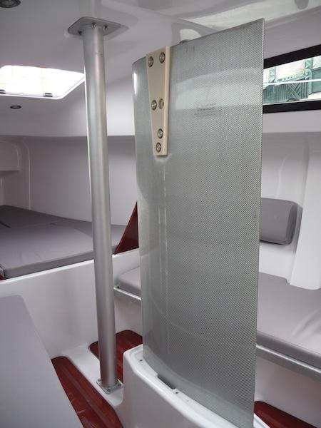 Far East 26 interior