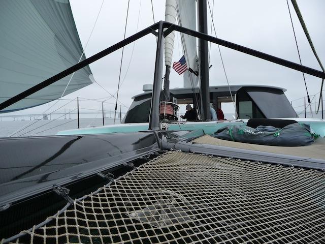 Gunboat 60 forward