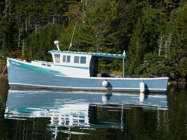 Lobster yacht profile