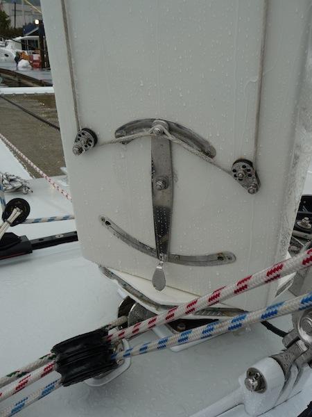 MastFoil flap control