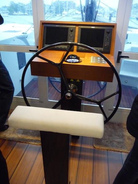 Gunboat 60 helm