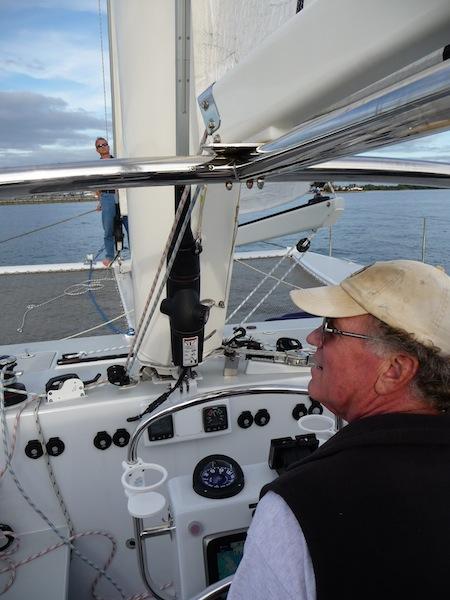 Atlantic 47 helm