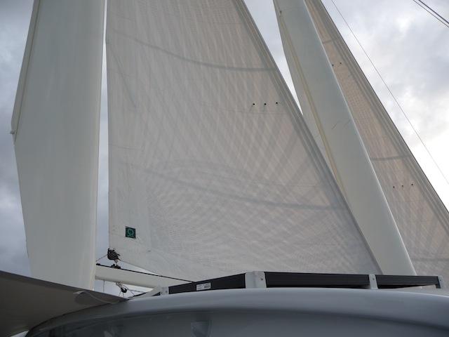 MastFoil rig starboard side