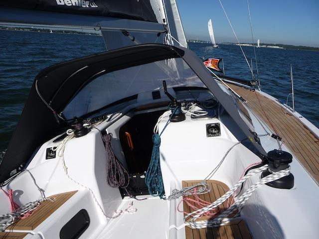 Dehler 38 cockpit