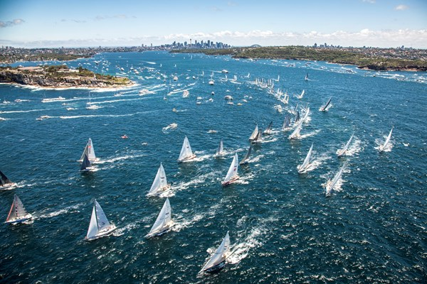2013 Hobart Race start