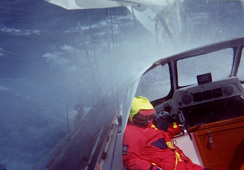 Spray on deck