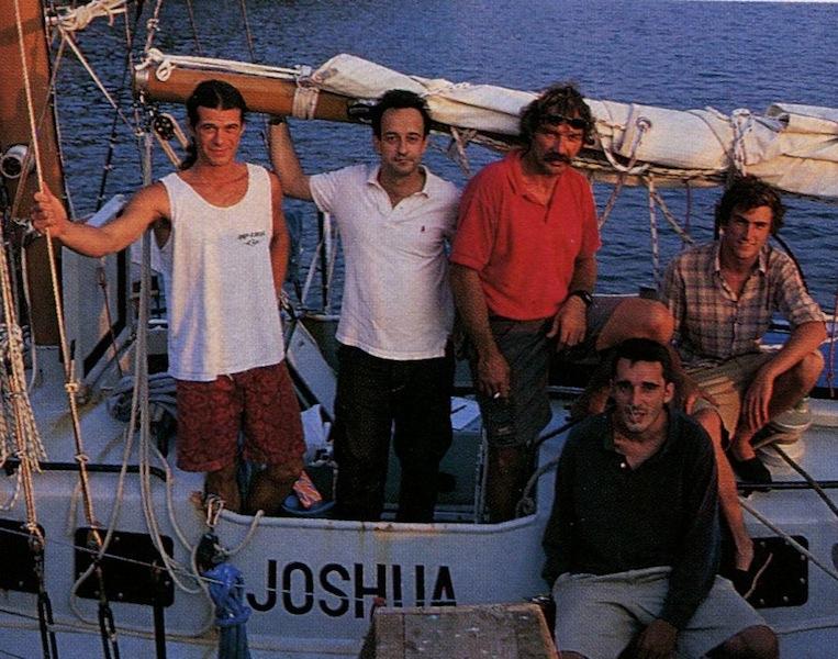 Stephan Moitessier on Joshua