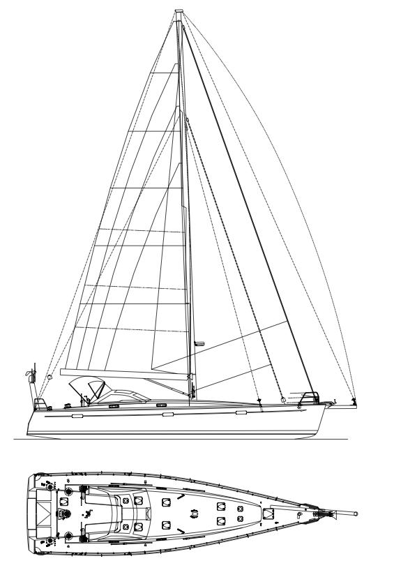 Kiwi Spirit sailplan