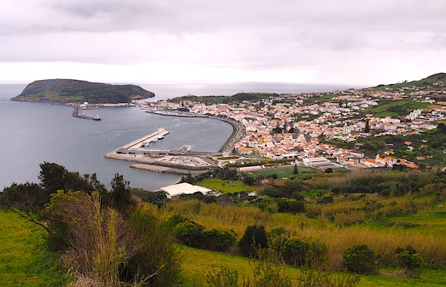 Faial from above