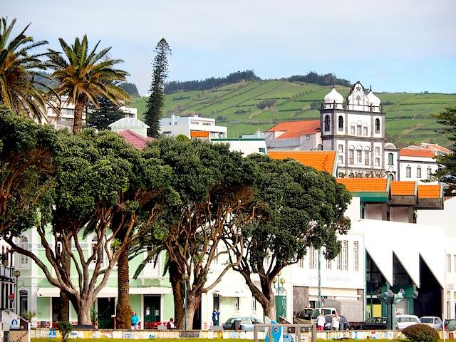 Horta waterfront