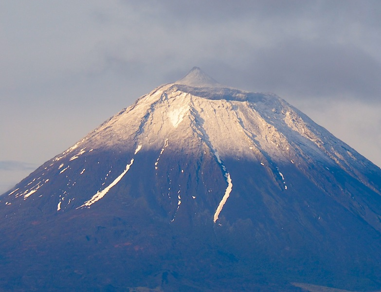 Pico with snow
