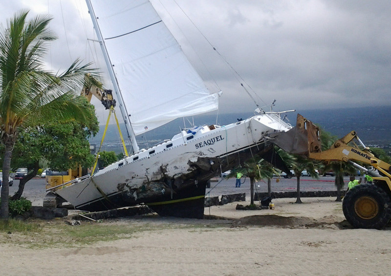 Seaquel destroyed