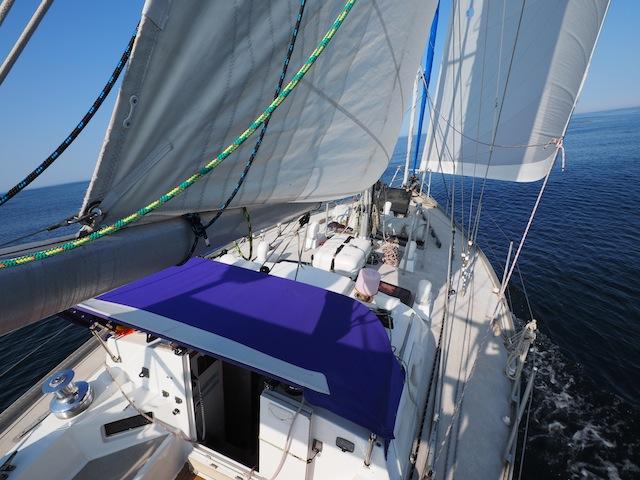 Gulf of Maine sailing